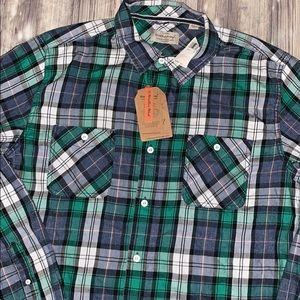 Weatherproof Shirts - Men's weatherproof light flannel shirt